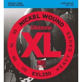 D´addario EXL230 Heavy Long Scale cuerdas para Bajo